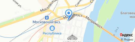 Согласие на карте Нижнего Новгорода