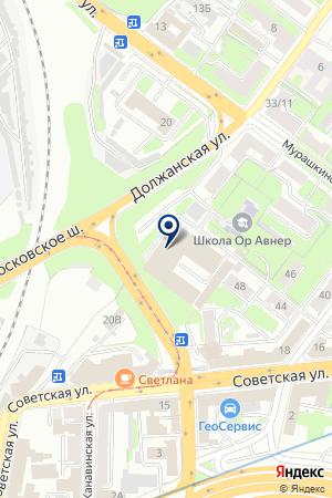 ОЛИМПИЯ на карте Нижнего Новгорода