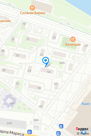 ЖК Седьмое Небо, Карла Маркса ул., 58 на Яндекс.Картах