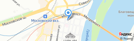 АрТек на карте Нижнего Новгорода