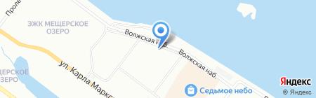 Онлайн на карте Нижнего Новгорода
