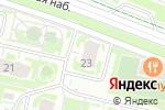 Схема проезда до компании Онлайн в Нижнем Новгороде