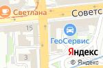 Схема проезда до компании Бизнес-Система в Нижнем Новгороде