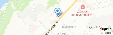 Афродита на карте Нижнего Новгорода