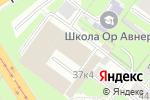 Схема проезда до компании Далк в Нижнем Новгороде