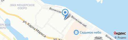 Канцтовары-Фотоуслуги на карте Нижнего Новгорода