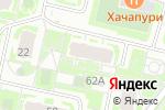 Схема проезда до компании Куафюр в Нижнем Новгороде