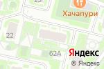 Схема проезда до компании Топ Ган в Нижнем Новгороде