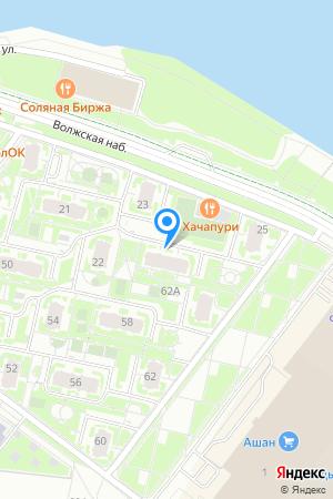 ЖК Седьмое Небо, Волжская наб., 24 на Яндекс.Картах