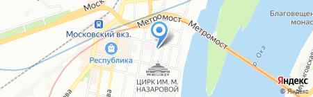 DA VINCI на карте Нижнего Новгорода