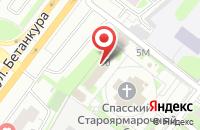 Схема проезда до компании Глагол в Нижнем Новгороде