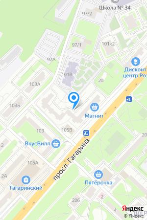 Гагаринские высоты, Гагарина просп., 101, корп. 5 на Яндекс.Картах