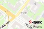 Схема проезда до компании Имплант Сити в Нижнем Новгороде