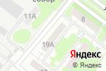 Схема проезда до компании Matrix в Нижнем Новгороде