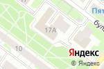 Схема проезда до компании Авангард Принт в Нижнем Новгороде