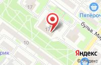 Схема проезда до компании Юнион в Нижнем Новгороде