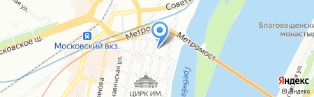 Нормал Вент-Регион на карте Нижнего Новгорода