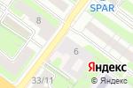 Схема проезда до компании Городская больница №4 в Нижнем Новгороде