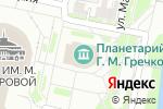 Схема проезда до компании Нижегородский планетарий в Нижнем Новгороде
