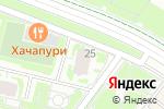 Схема проезда до компании ХимKov в Нижнем Новгороде