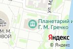 Схема проезда до компании Зазеркалье в Нижнем Новгороде