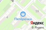 Схема проезда до компании Сладкая радуга в Нижнем Новгороде