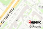 Схема проезда до компании Дверсаль-НН в Нижнем Новгороде