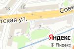 Схема проезда до компании Теплоэнерго Инфо в Нижнем Новгороде