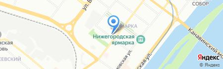 Инь Янь на карте Нижнего Новгорода