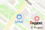 Схема проезда до компании Банзай в Нижнем Новгороде