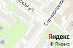 Схема проезда до компании CGF в Нижнем Новгороде