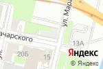 Схема проезда до компании Офисный-центр в Нижнем Новгороде