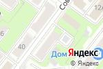 Схема проезда до компании Юнидеф в Нижнем Новгороде