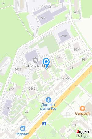 Гагаринские высоты,Гагарина просп., 101/1 на Яндекс.Картах