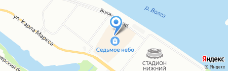 Promod на карте Нижнего Новгорода