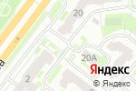 Схема проезда до компании Родники Поволжья в Нижнем Новгороде