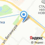 КапиталРемСтрой на карте Нижнего Новгорода