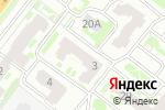 Схема проезда до компании Квадрат в Нижнем Новгороде