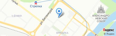 Инфам на карте Нижнего Новгорода