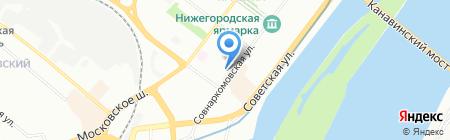 Царство ароматов на карте Нижнего Новгорода