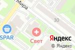 Схема проезда до компании Электроэнергия.рф в Нижнем Новгороде