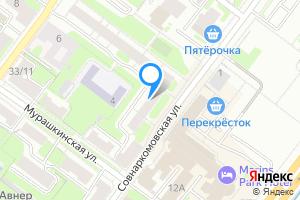 Однокомнатная квартира в Нижнем Новгороде Совнаркомовская ул., 34