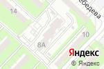 Схема проезда до компании Qp-52 в Нижнем Новгороде