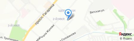 Qp-52 на карте Нижнего Новгорода