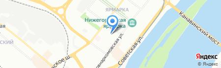 Ункомтех на карте Нижнего Новгорода