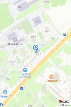 Гагаринские высоты, Гагарина просп., 101, корп. 3 на Яндекс.Картах