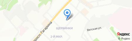 Детский сад №440 на карте Нижнего Новгорода