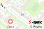 Схема проезда до компании Цветы-одна цена в Нижнем Новгороде