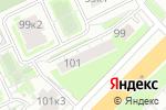 Схема проезда до компании Архиленд в Нижнем Новгороде