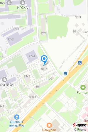 Гагаринские высоты, Гагарина просп., 99/1 на Яндекс.Картах